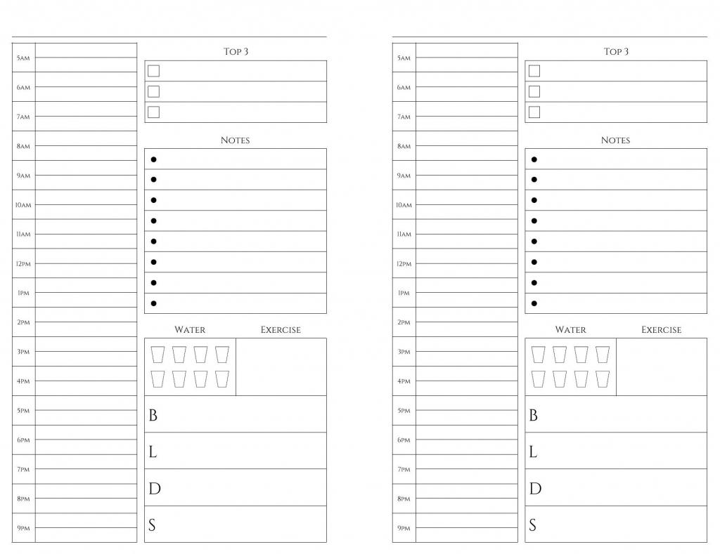 Exemplary 5.5 X 8.5 Printable Calendar Pages : Mini Calendar Incredible 5.5 X 8.5 Monrhly Plnnwe
