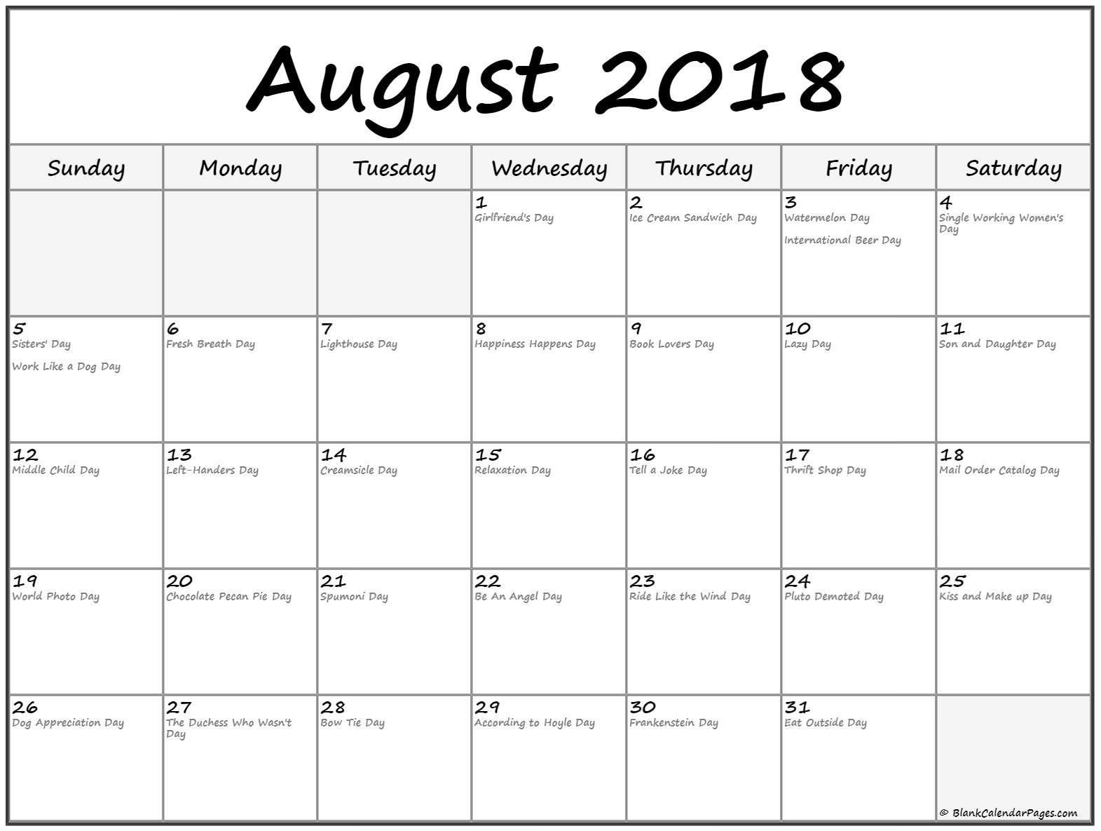 Fun Calendar Template - Colona.rsd7 Perky Printable Calendar 2020 Of Ridiculous Holidays