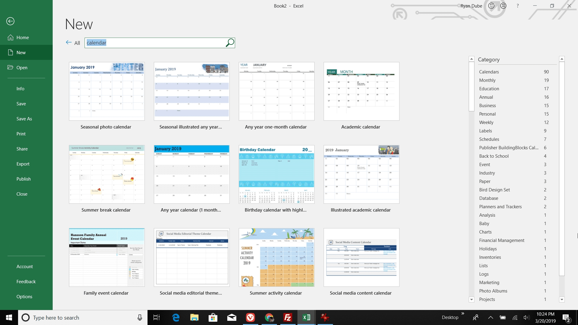 How To Make A Calendar In Excel Create A Calendar Printable In Excel