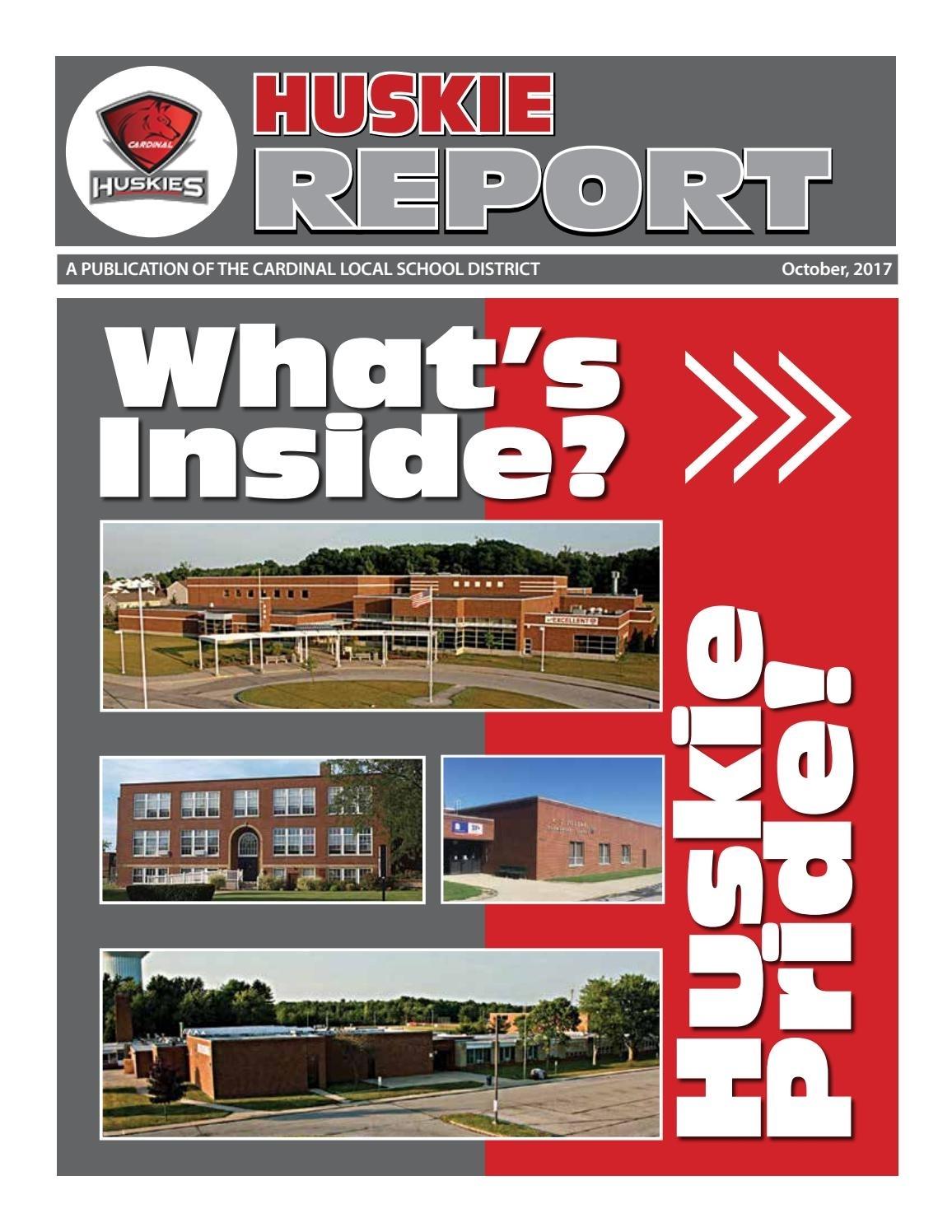 Huskie Report Oct 2017 By Scott Jones - Issuu Remarkable West Geauga School Calendar 2017