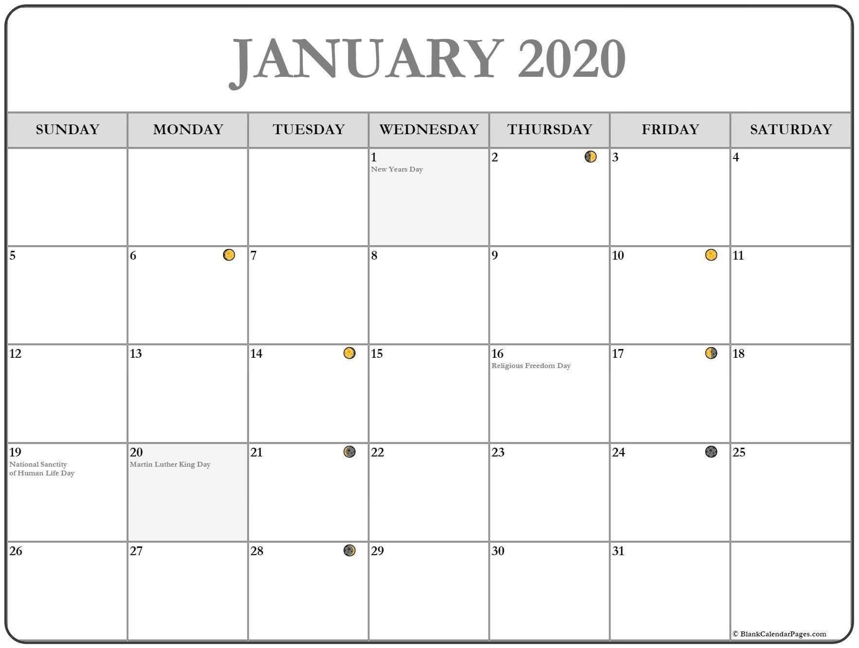 January 2020 Lunar Calendar   Monthly Calendar Template March 2020 Lunar Calendar