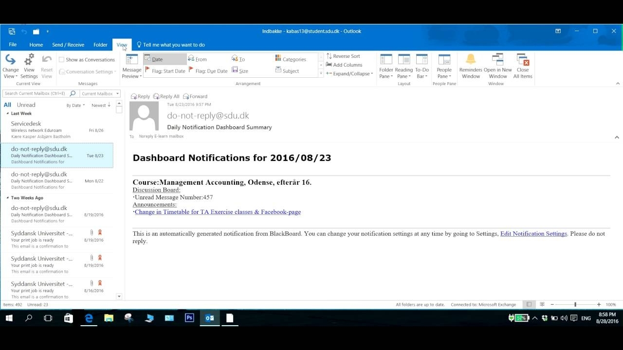 Mail Navigation In Outlook 2016 Disappeared - Solution Exceptional Calender Pane Disappeared In Outlook