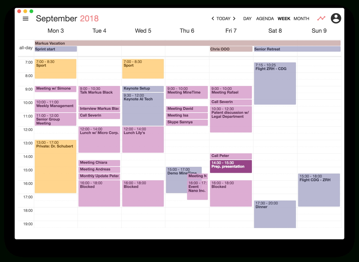 Minetime | Get Your New Calendar For Win, Mac And Linux Impressive How To Download Zurich Calendar