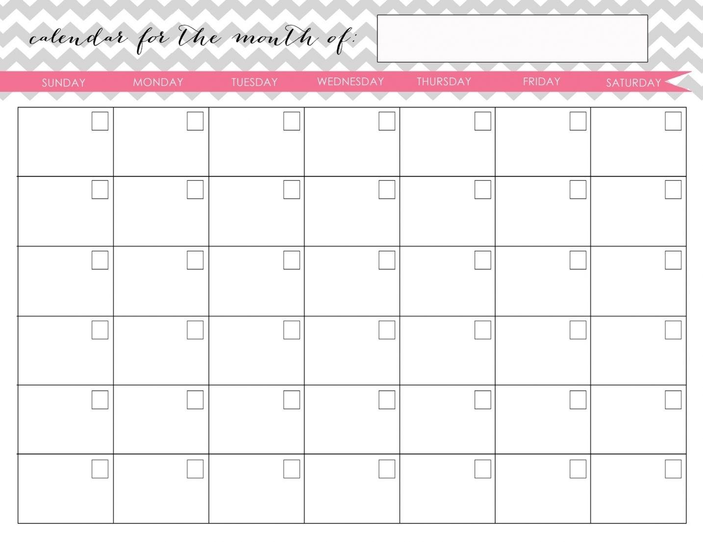 My Homekeeping Binder Kit   Blank Monthly Calendar Extraordinary Printable Binder Monthly Calender Blank