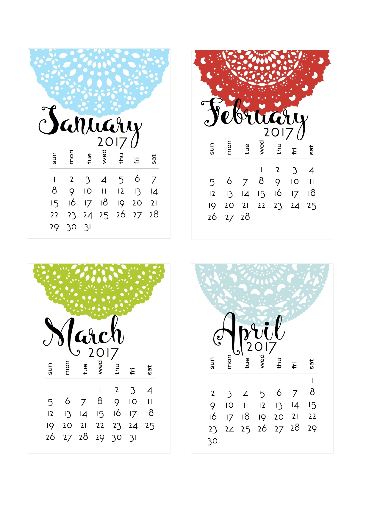 Re-Oriented Doily Calendar | Scrappystickyinkymess Extraordinary 3 Year Calendar Reference Printable 2020-2022