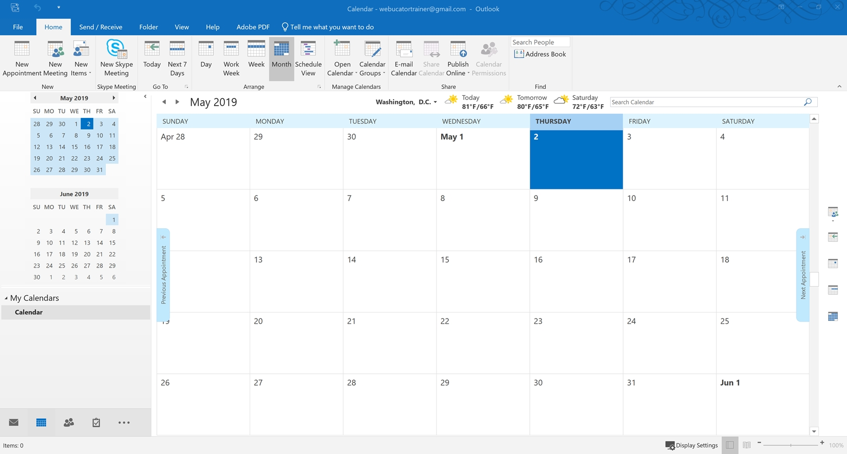 Tutorial: Working With The Calendar | Introduction To Office 365 Calendar Printing Assistant
