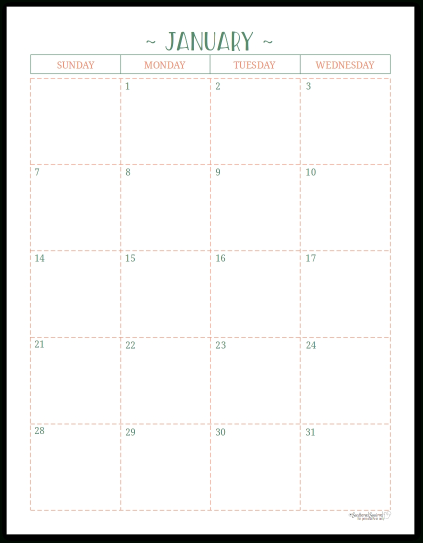 Two Page Per Month 2018 Dated Calendars Are Ready Extraordinary Printable Binder Monthly Calender Blank