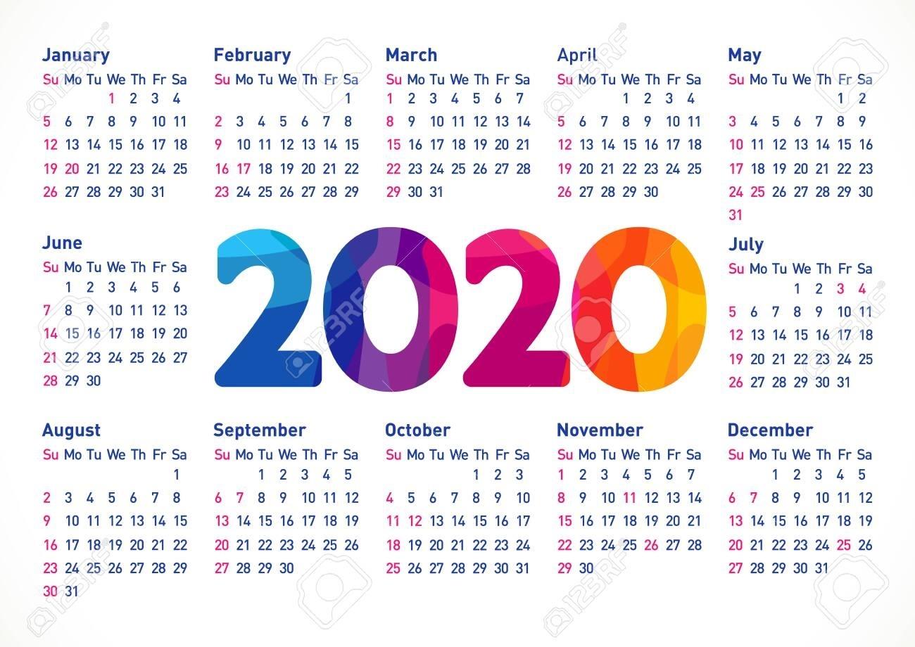 Usa Calendar 2020 - Colona.rsd7 Impressive 2020 Calendar Holidays Usa