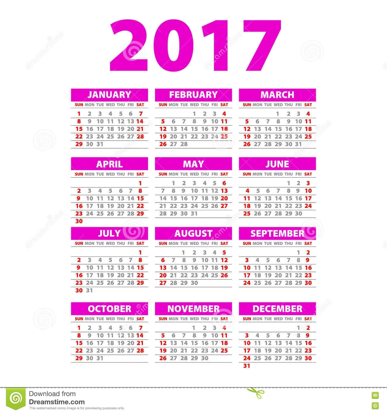Whole Year Calendars - Colona.rsd7 Extraordinary Calendars For The Whole Year