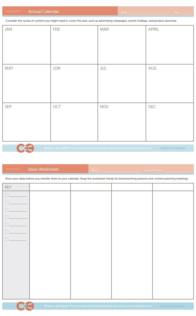 15 Content Calendar Templates To Help Your Content Strategy Content Calendar Template Google Docs