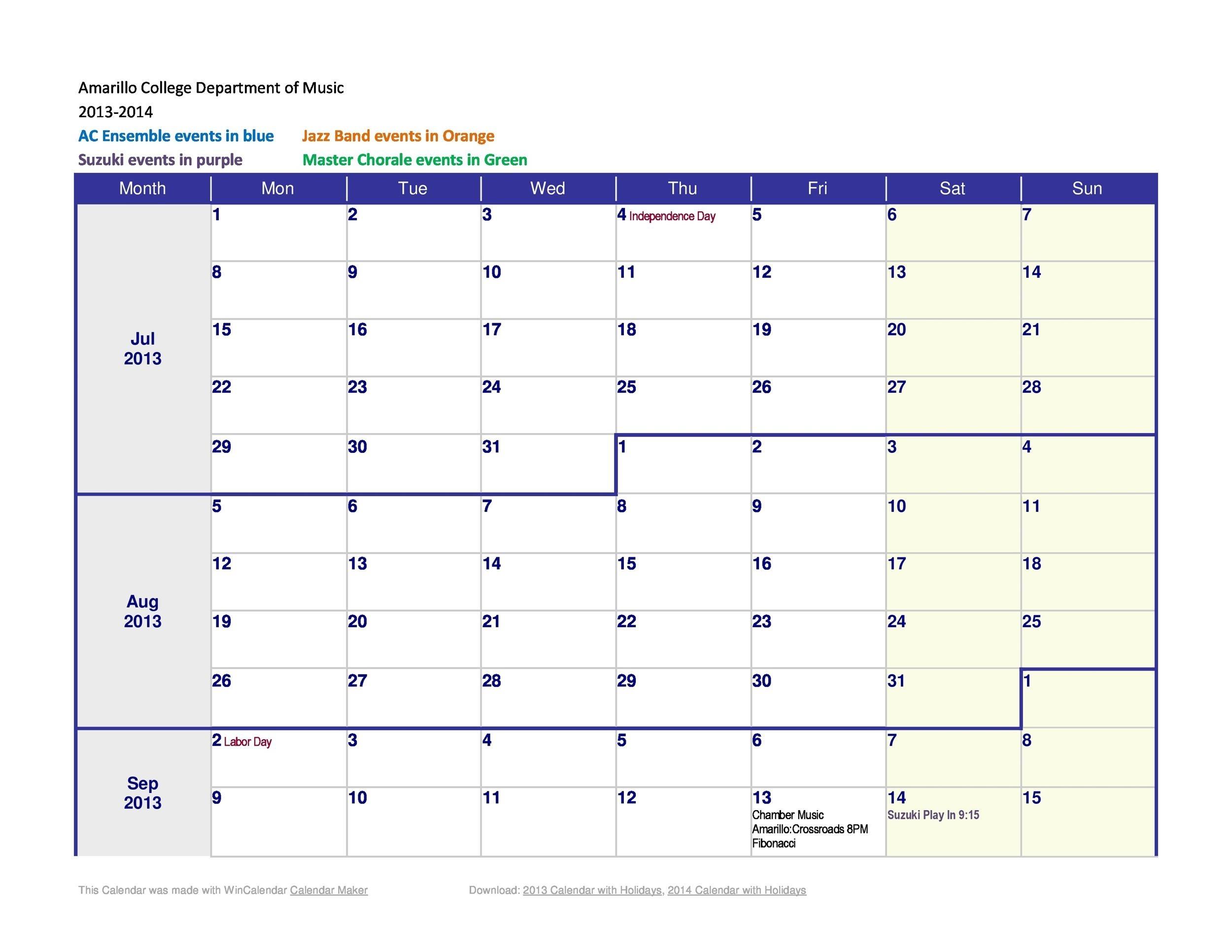26 Blank Weekly Calendar Templates [Pdf, Excel, Word] ᐅ 9 Week Calendar Template