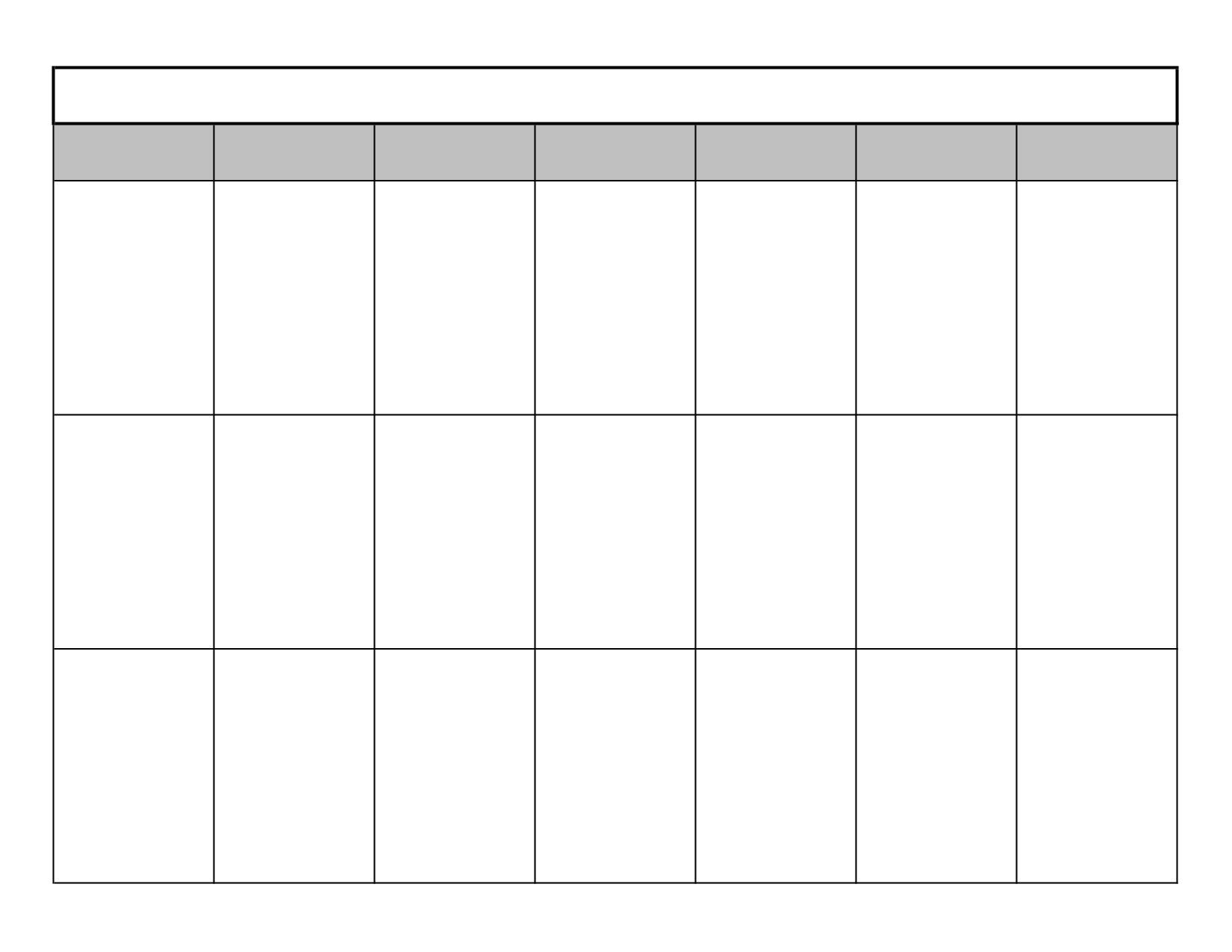 3 Week Calendar - Grude.interpretomics.co Catch | Blank 3 Week Calendar Template