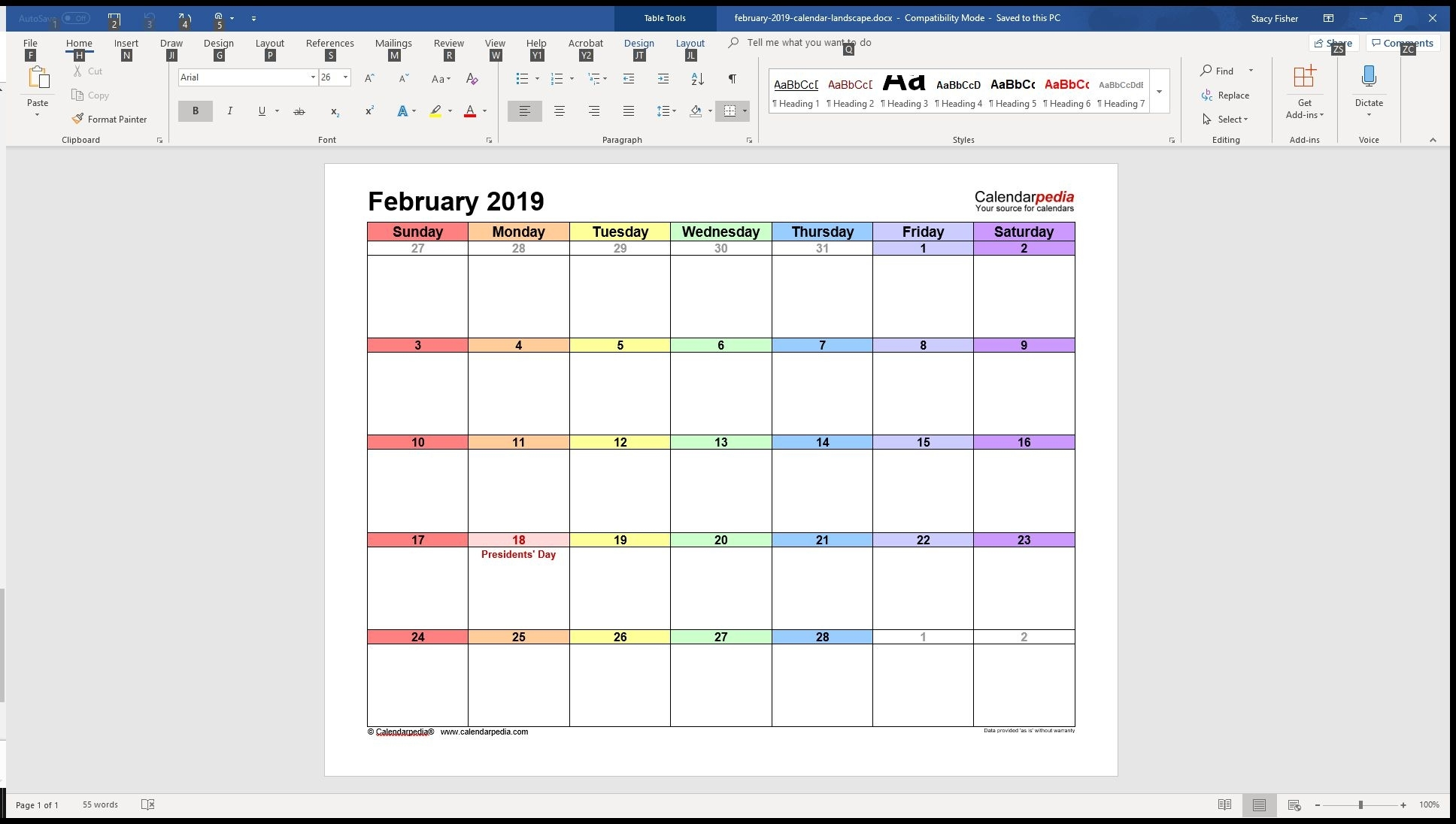7 Top Place To Find Free Calendar Templates For Word Calendar Template Microsoft Word