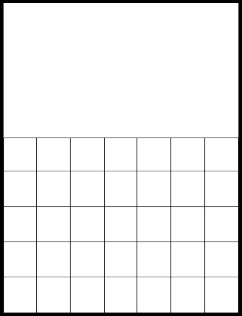 Blank Calendar Grid Template How Will Blank Calendar Grid Free Calendar Grid Template