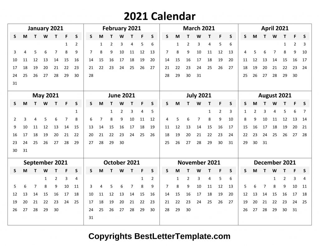 Calendar 2021 Tumblr Free In 2020 | Excel Calendar Template Excel Yearly Calendar 2021
