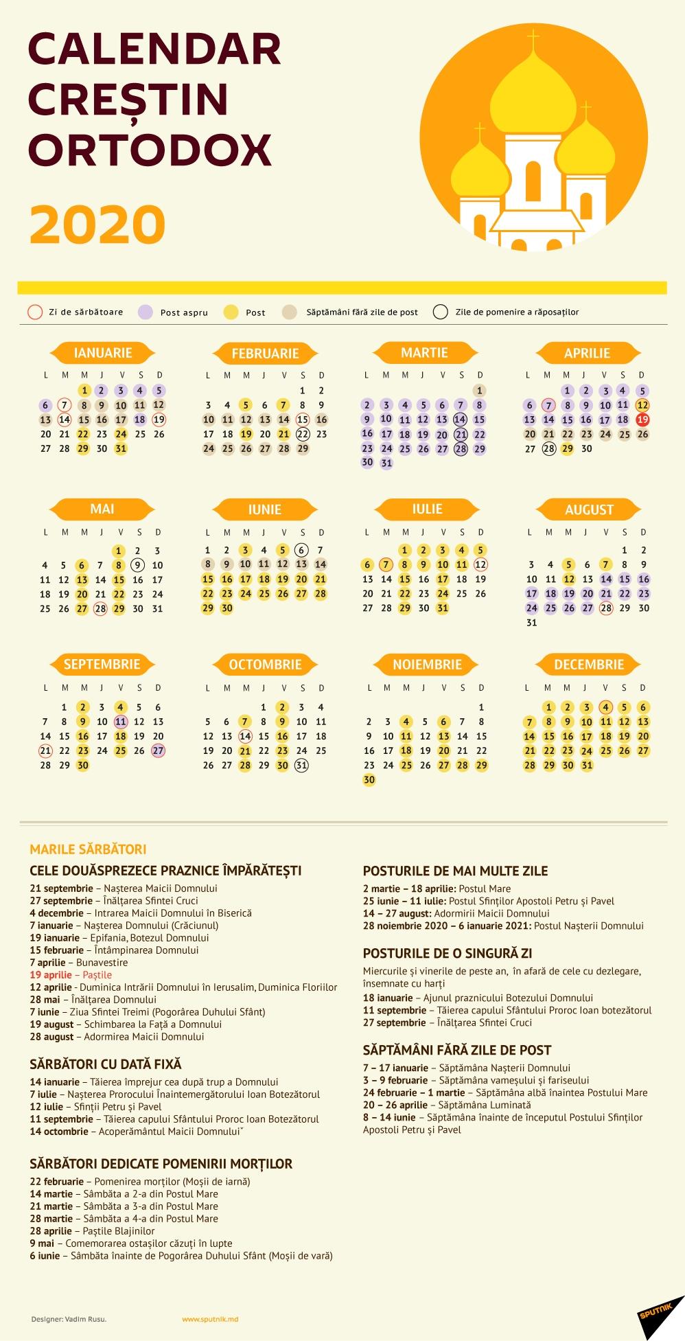 Calendar Creștin Ortodox 2020 Calendar Ortodox Mai 2021