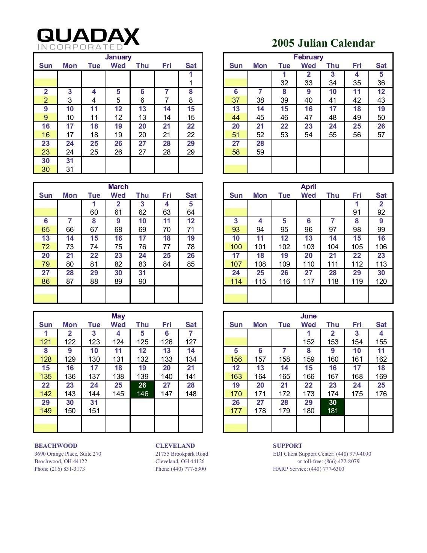 Calendario Juliano 2020 Quadax | Calendar For Planning Quadax 2021 Julian Calendar
