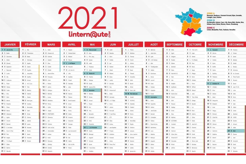 Calendrier 2021 : Calendrier Gratuit À Télécharger Ou À Imprimer Calendrier À Imprimer 2021