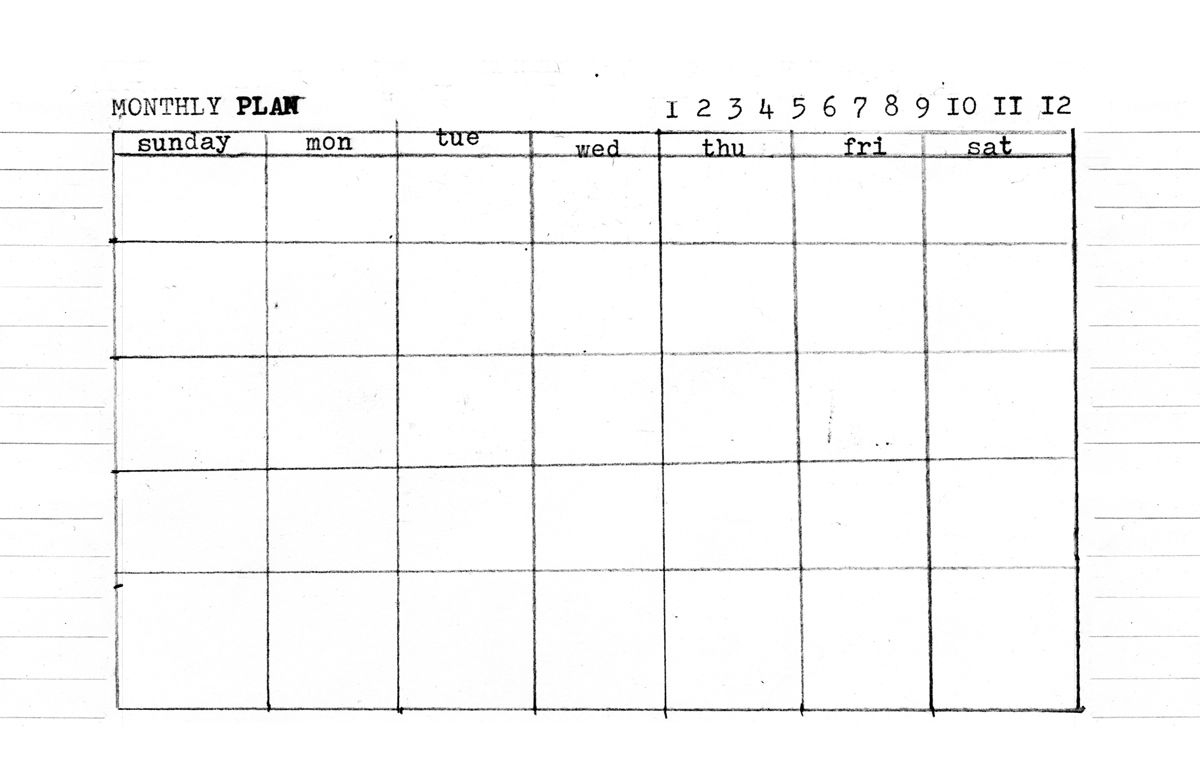 Day, Week, Month - 5.5 X 8.5 Templates ⋆ Amanda Hawkins Calendar Template 5.5 X 8.5