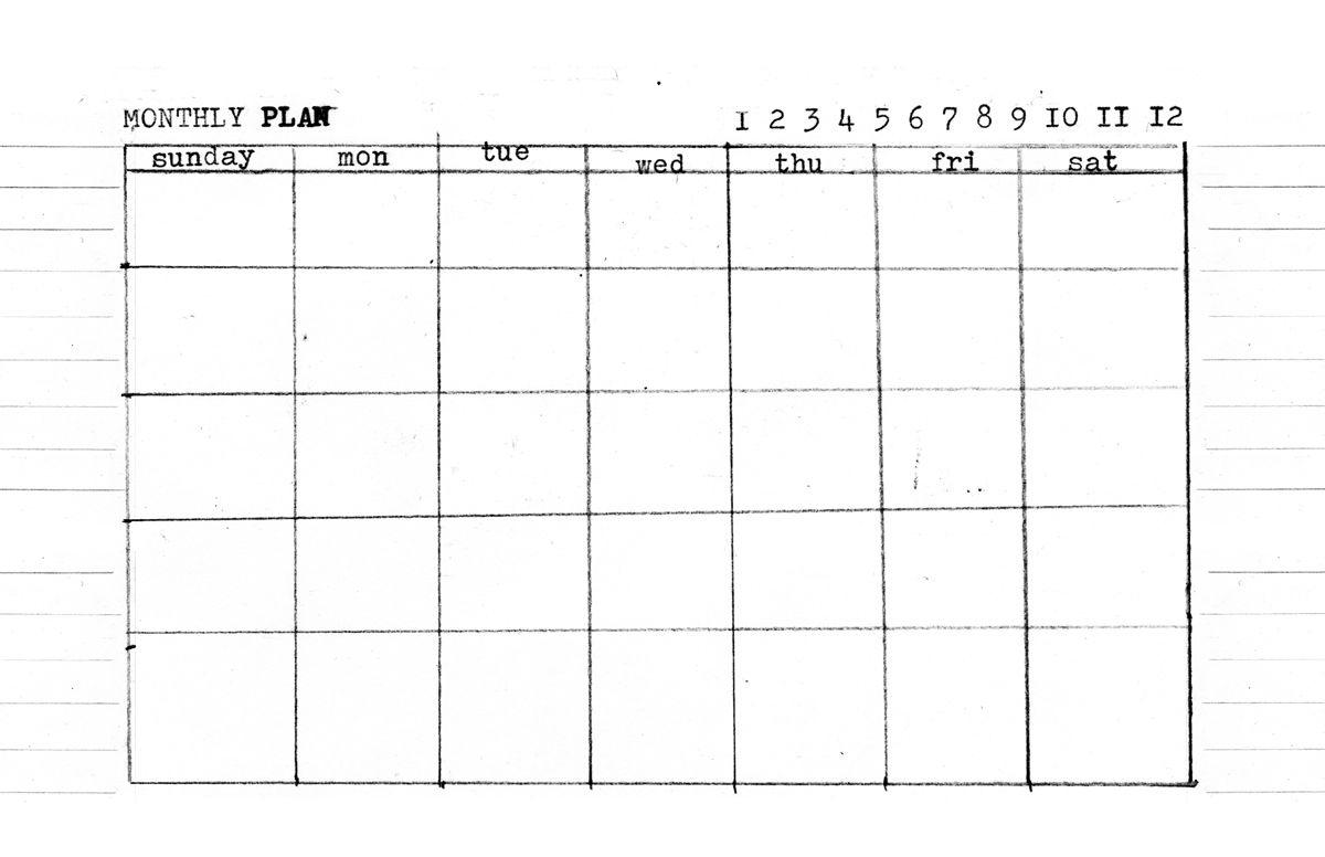 Day, Week, Month - 5.5 X 8.5 Templates ⋆ Amanda Hawkins Calendar Template 8.5 X 5.5