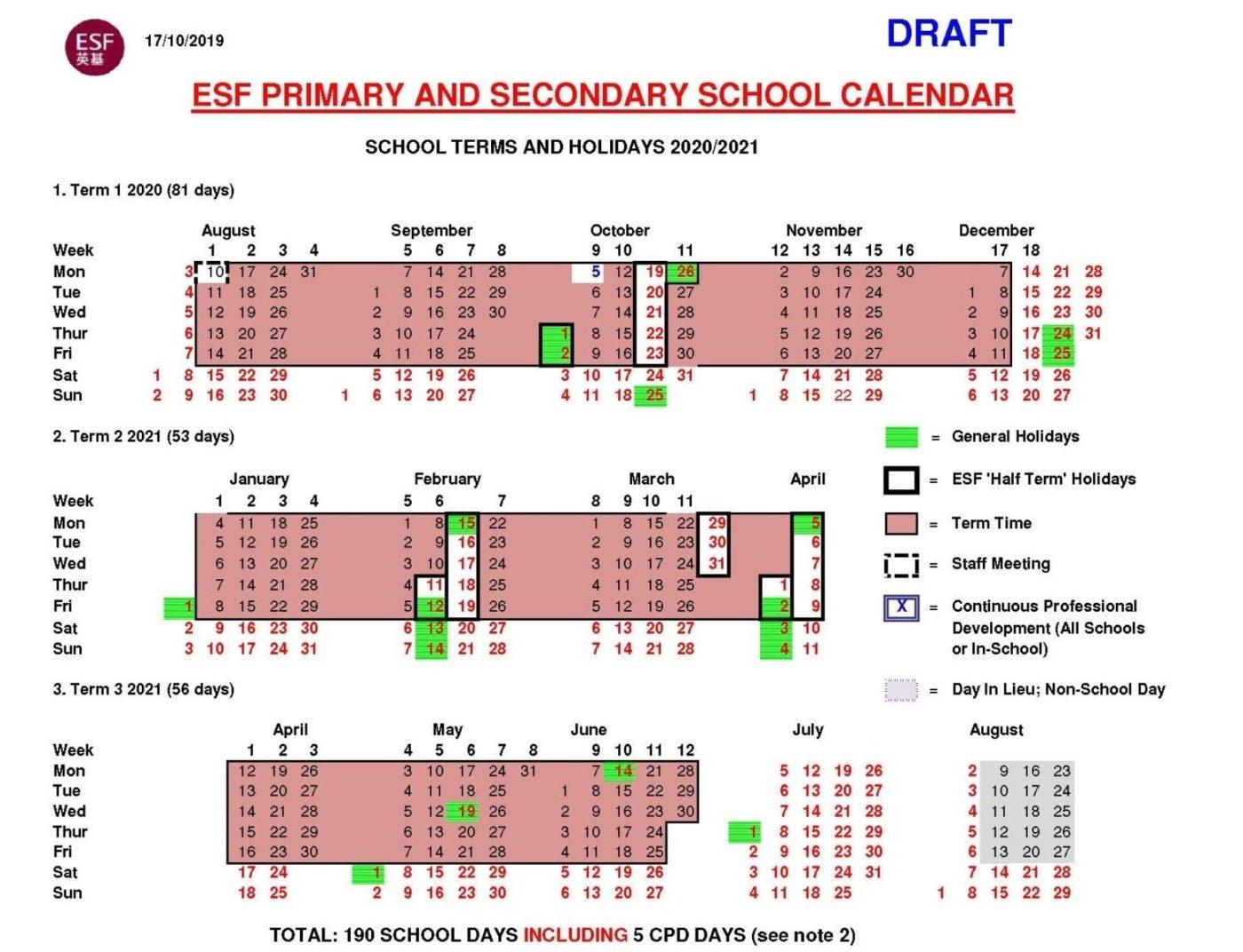 English Schools Foundation | 22 International Schools In Hk 2021 Calendar Hk