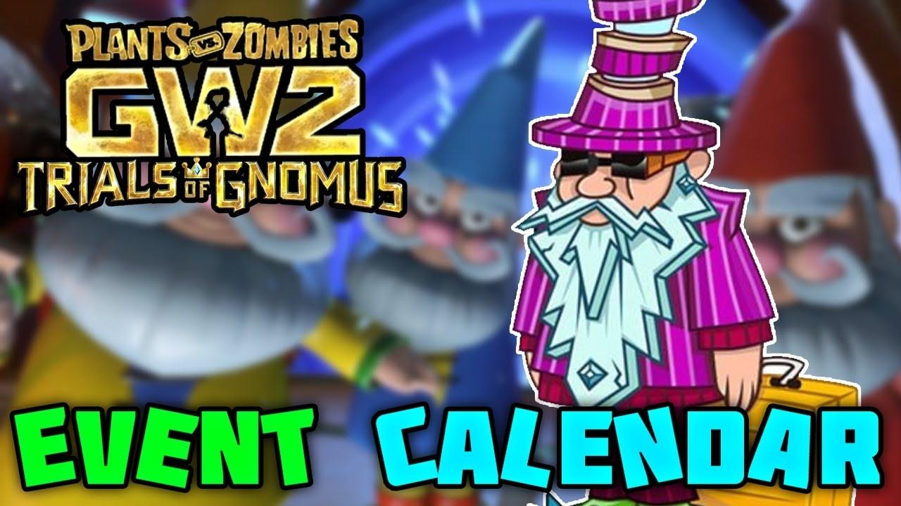 Garden Warfare 2 Events   Calendar For Planning Pvz Gw2 Mystery Portal Schedule 2021