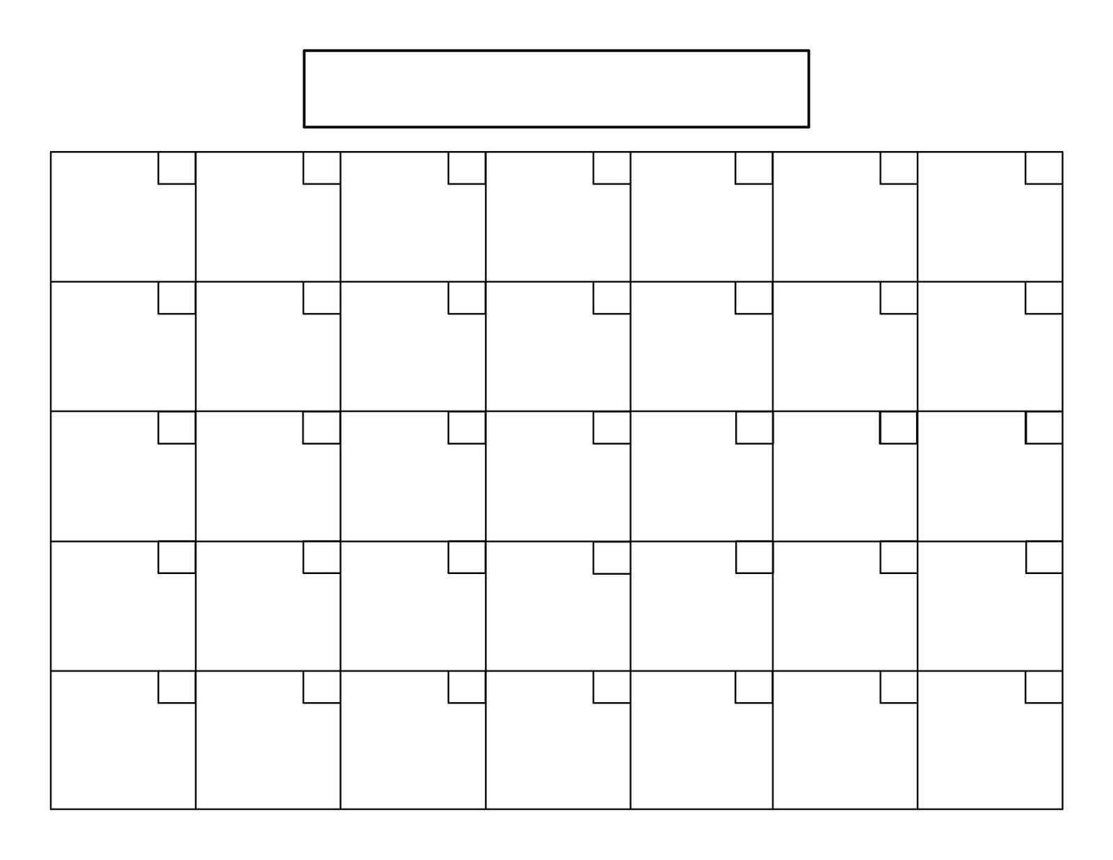 I Like To-Do Lists. Mostly, I Like Checking Things Off Of A Free Calendar Grid Template