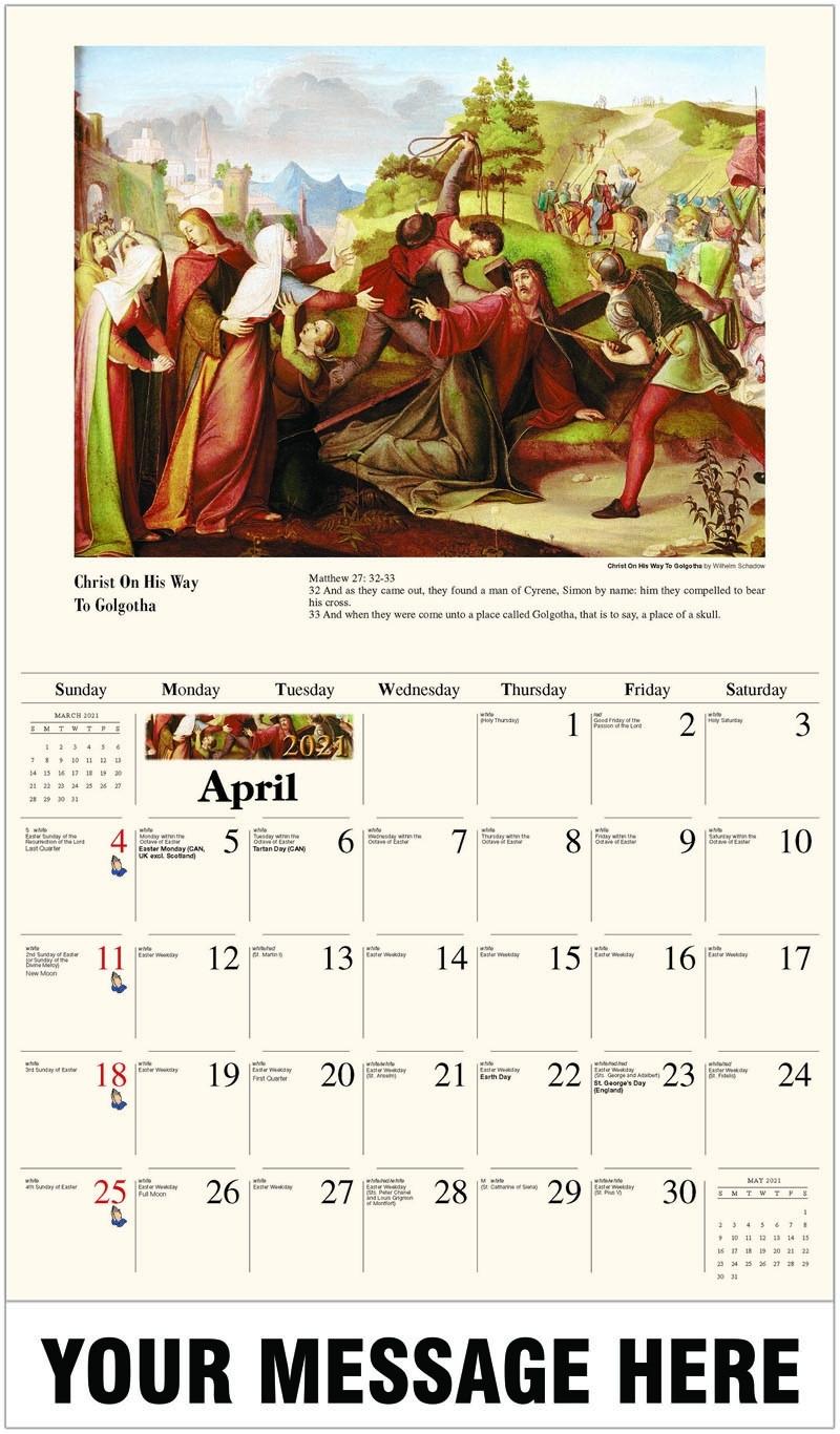 Inexpensive Wholesale Catholic Art And Liturgy Wall Calendars Catholic Calendar 2021 Poster