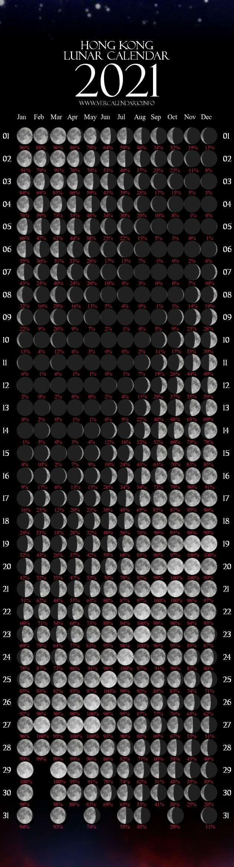 Lunar Calendar 2021 (Hong Kong) 2021 Calendar Hk