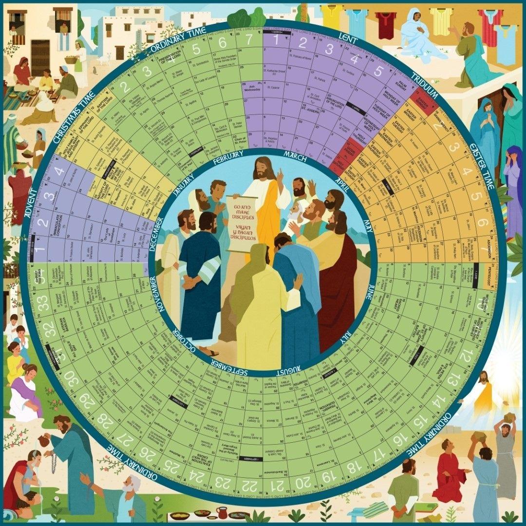 Pin On Liturgical Inspirations Catholic Calendar 2021 Poster