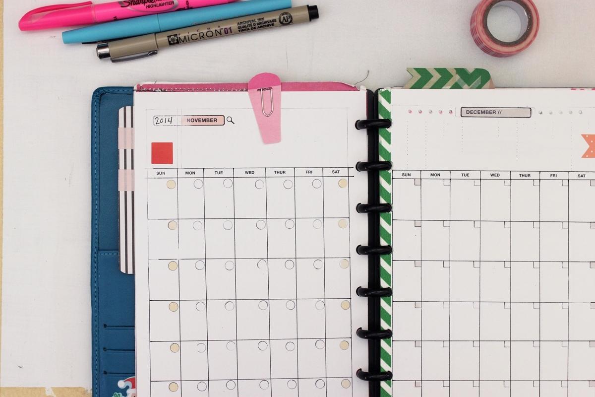 Planner Templates, 5.5 X 8.5 ⋆ Amanda Hawkins | Ahhh Calendar Template 5.5 X 8.5