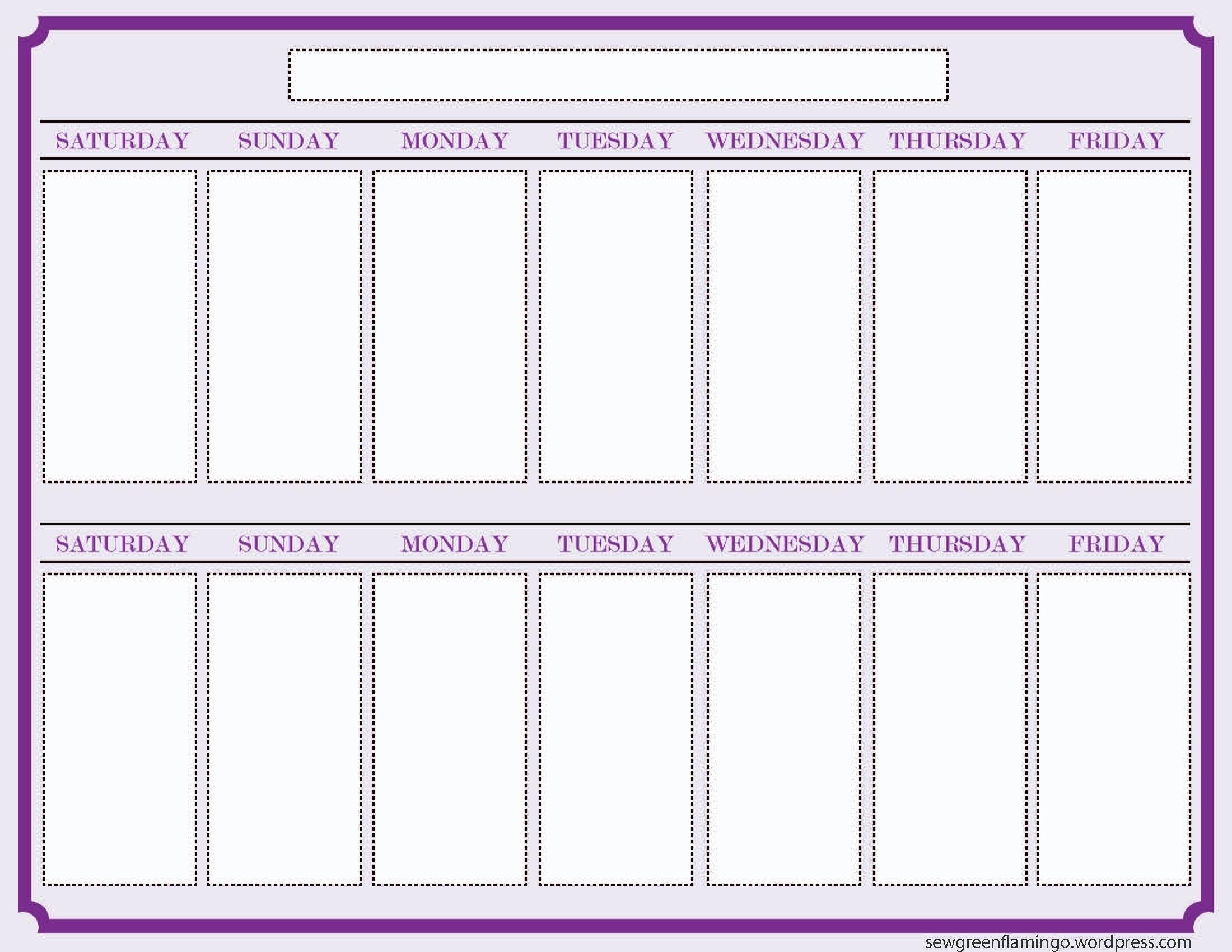 Print Off Year Long Calendar   Blank Calendar Template Year Long Calendar Template