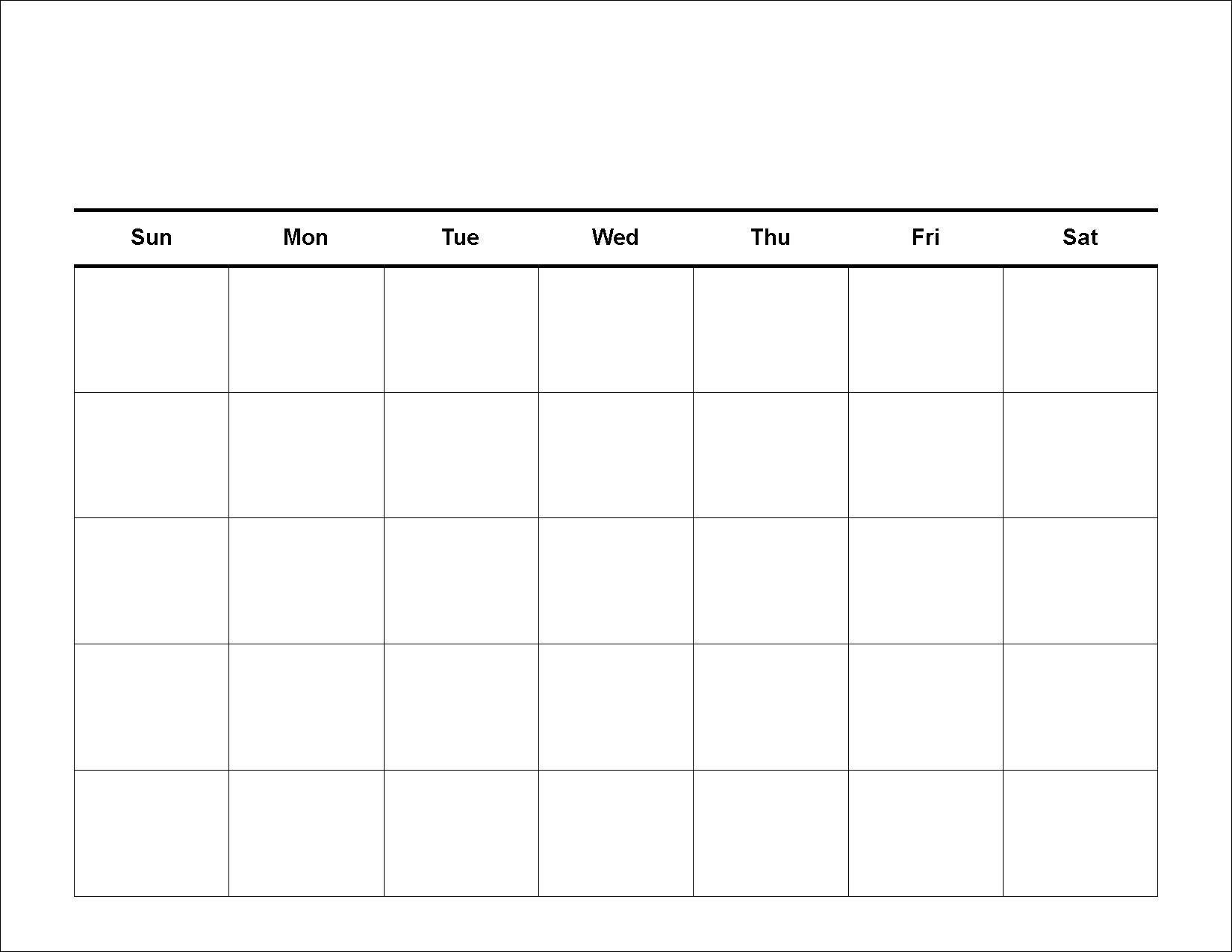 Printable Calendar Grid Leonescapersco Free 2 Week Blank Free Calendar Grid Template
