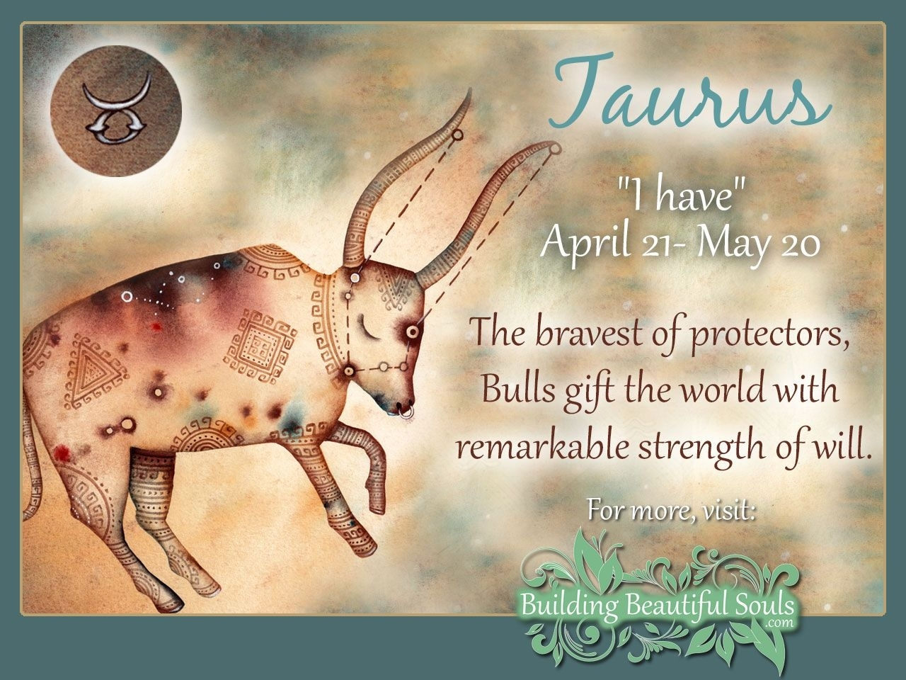 Taurus Star Sign: Taurus Sign Traits, Personality Zodiac Calendar Personality Traits