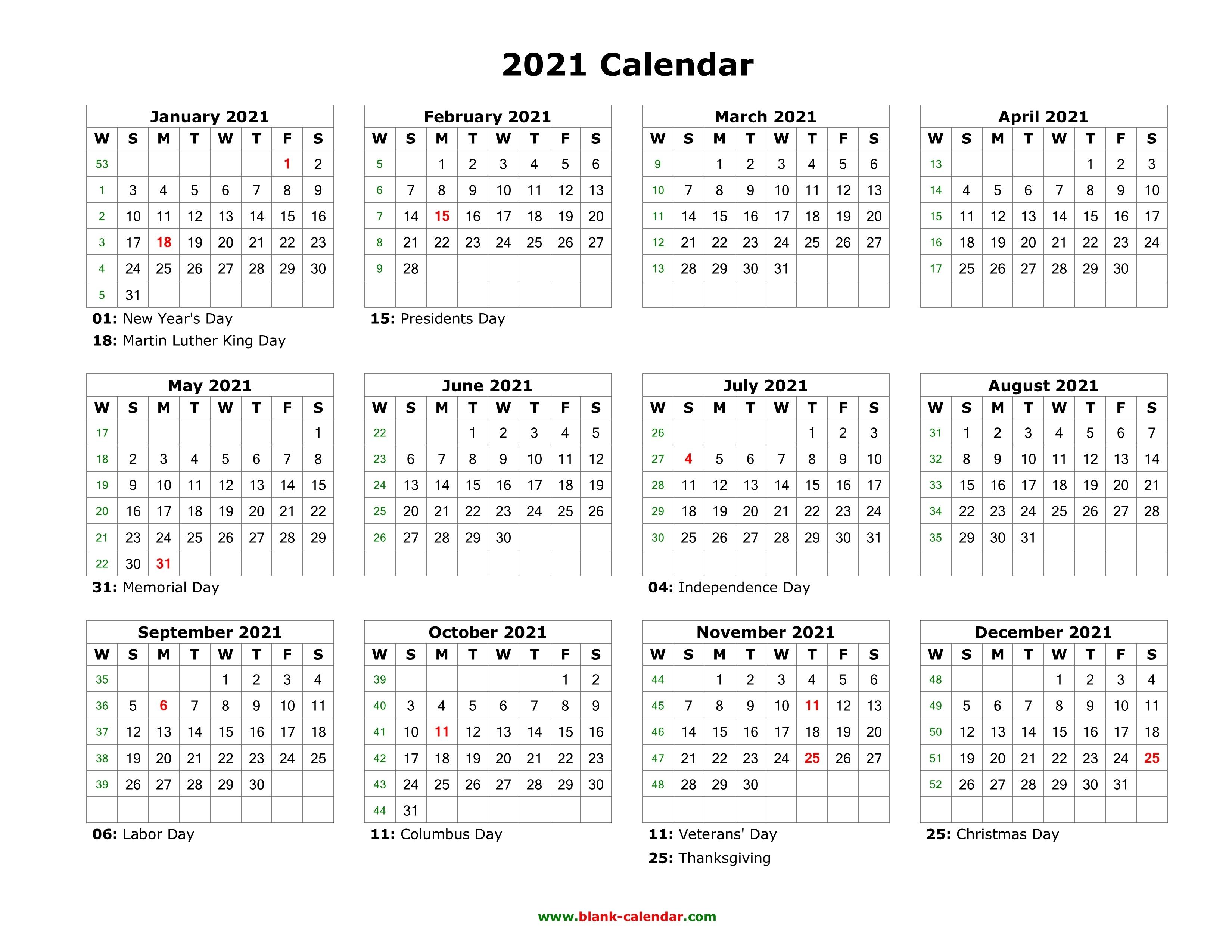 Blank Calendar 2021   Free Download Calendar Templates Free Calendars 2021 Word Doc Printable August