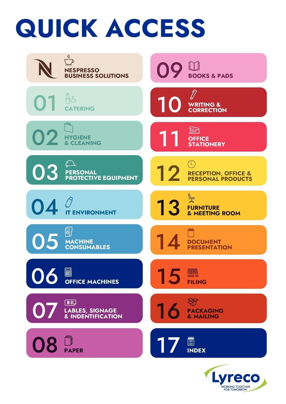 Calaméo - 2019 General Catalogue F&N Menu Calendar Templates