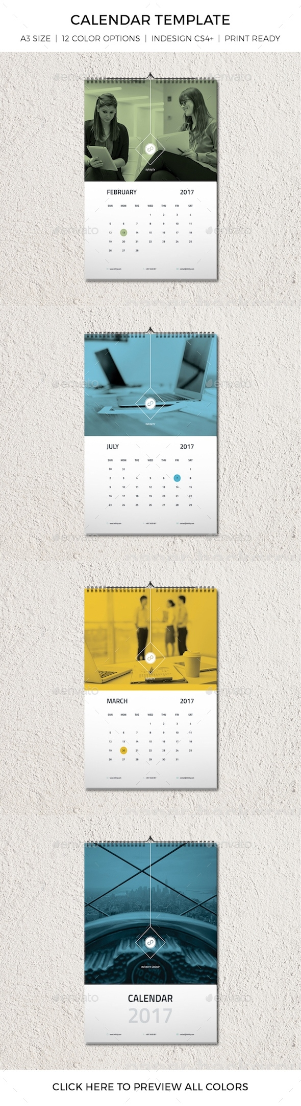Calendar Template Graphics, Designs & Templates Calendar Template Graphic Design