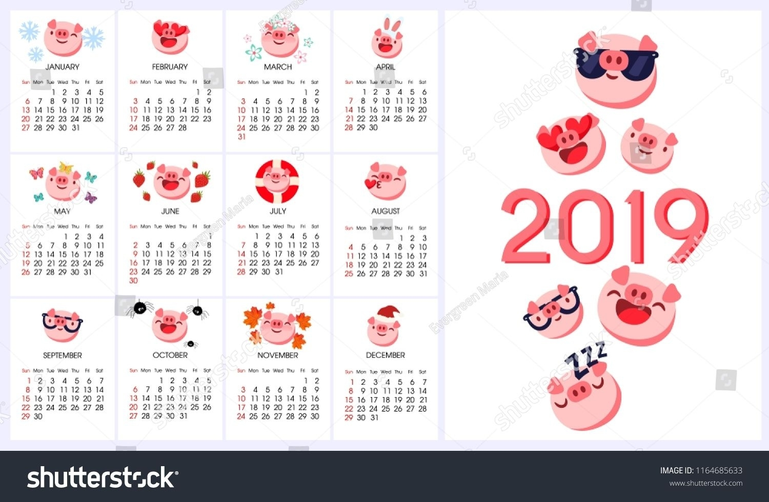Chinese Calendar With Zodiac Signs | Happy Chinese New Year Chinese Calendar With Zodiac Signs