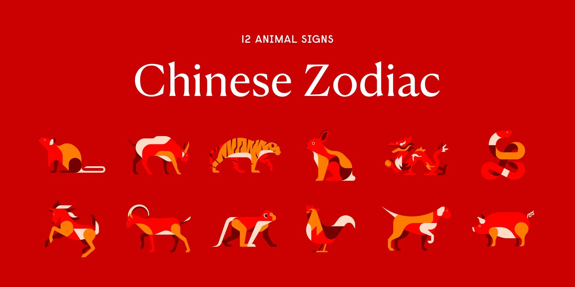 Chinese Zodiac: 12 Animal Signs, Compatibility, Horoscopes Lunar New Year Zodiac Calendar