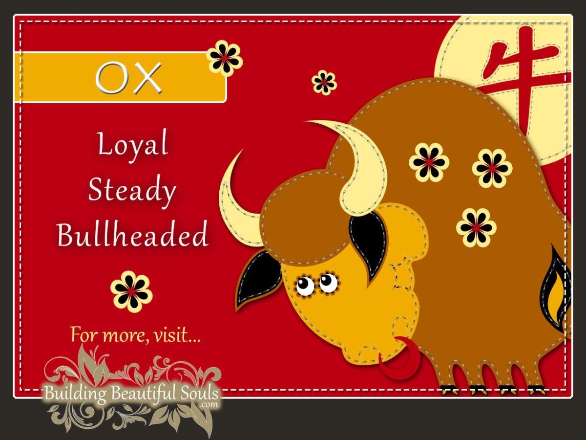 Chinese Zodiac Ox | Year Of The Ox | Funny Horoscopes Chinese Zodiac Calendar Ox