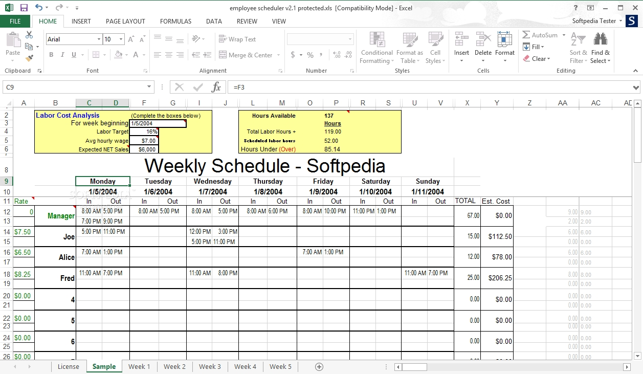 Employee Schedule Template Open Office You Will Never Calendar Template Open Office