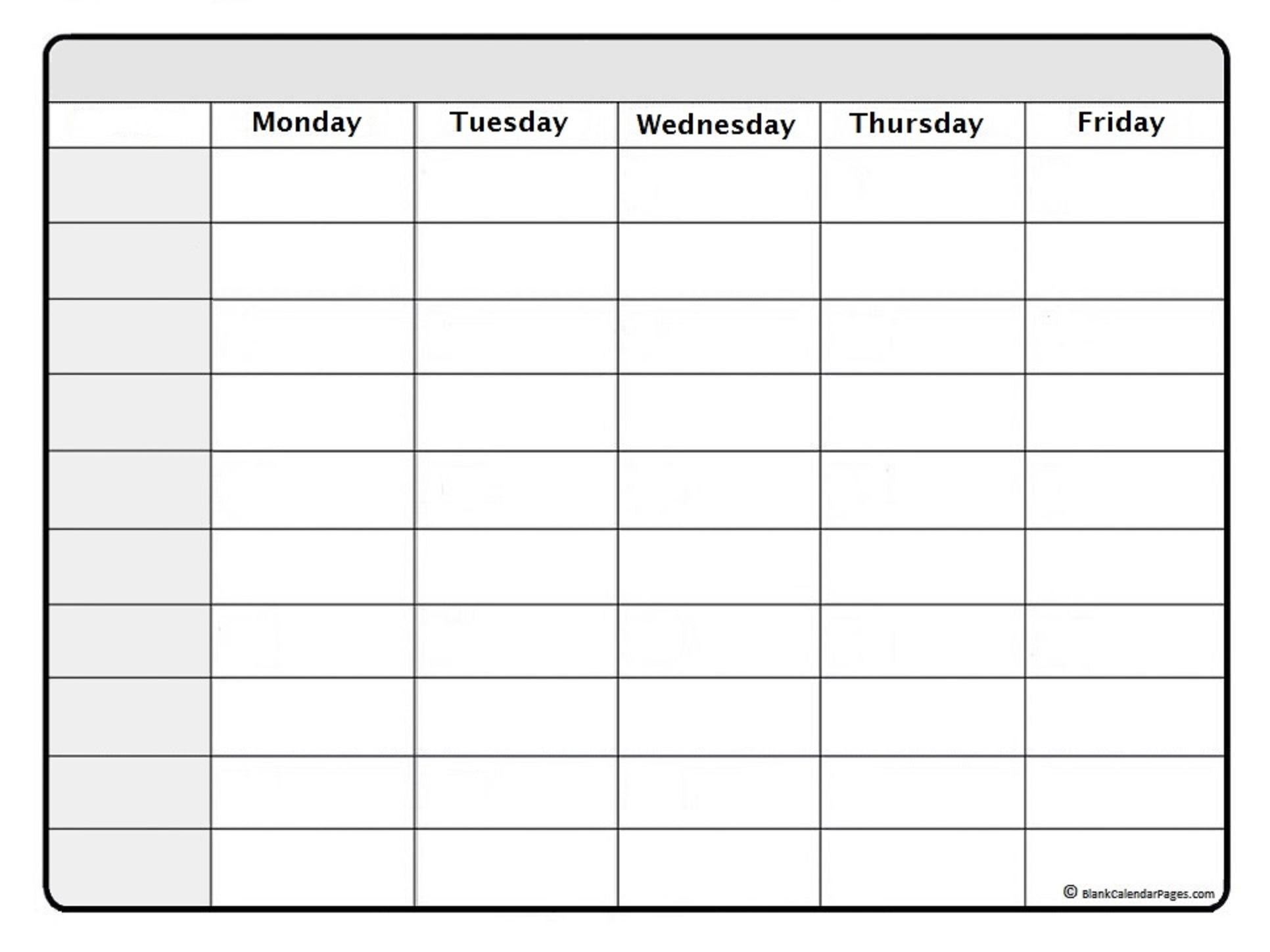 February 2021 Weekly Calendar   February 2021 Weekly 7 Day Calendar Template Free