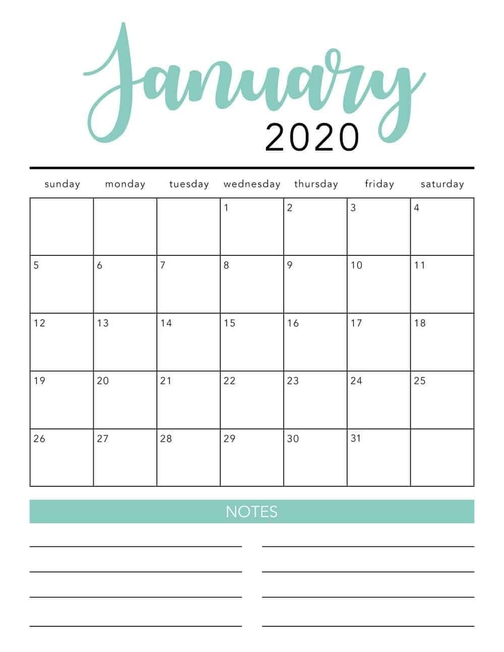 Free 2020 Printable Calendar Template 2 Colors I May 2020 Free Calendar Background Templates