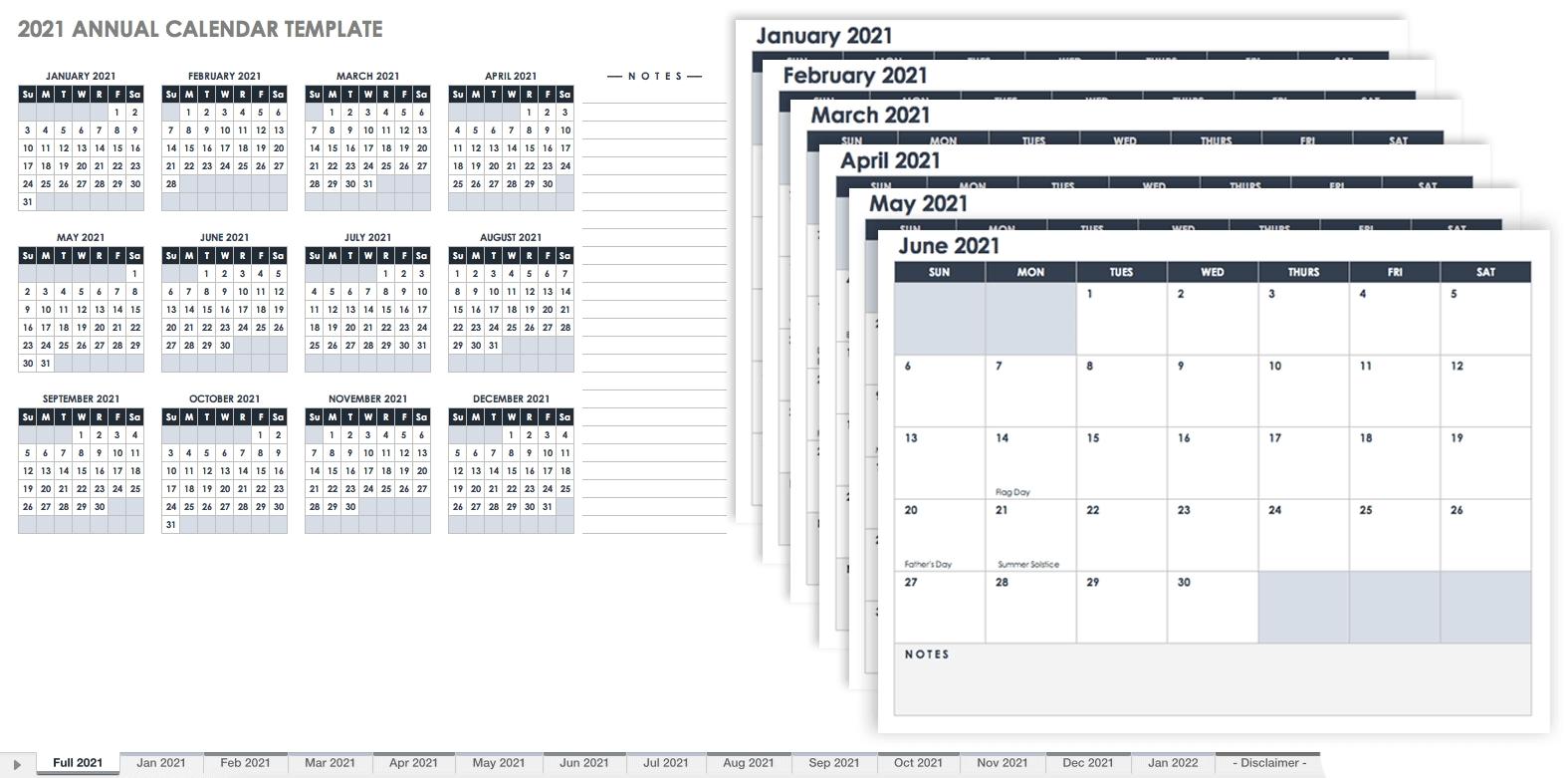 Free Excel Calendar Templates 2021 Lined Calendar Printable Excel