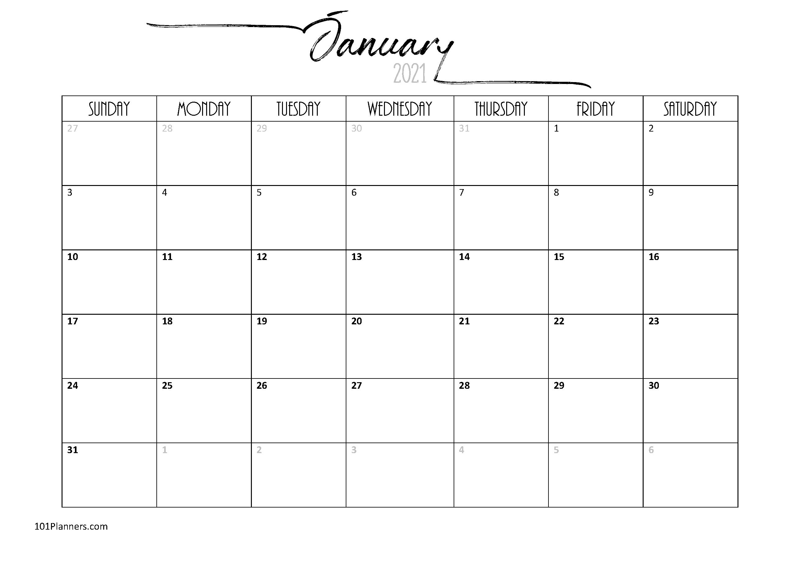 Free Word Calendar 2021 Free Calendars 2021 Word Doc Printable August