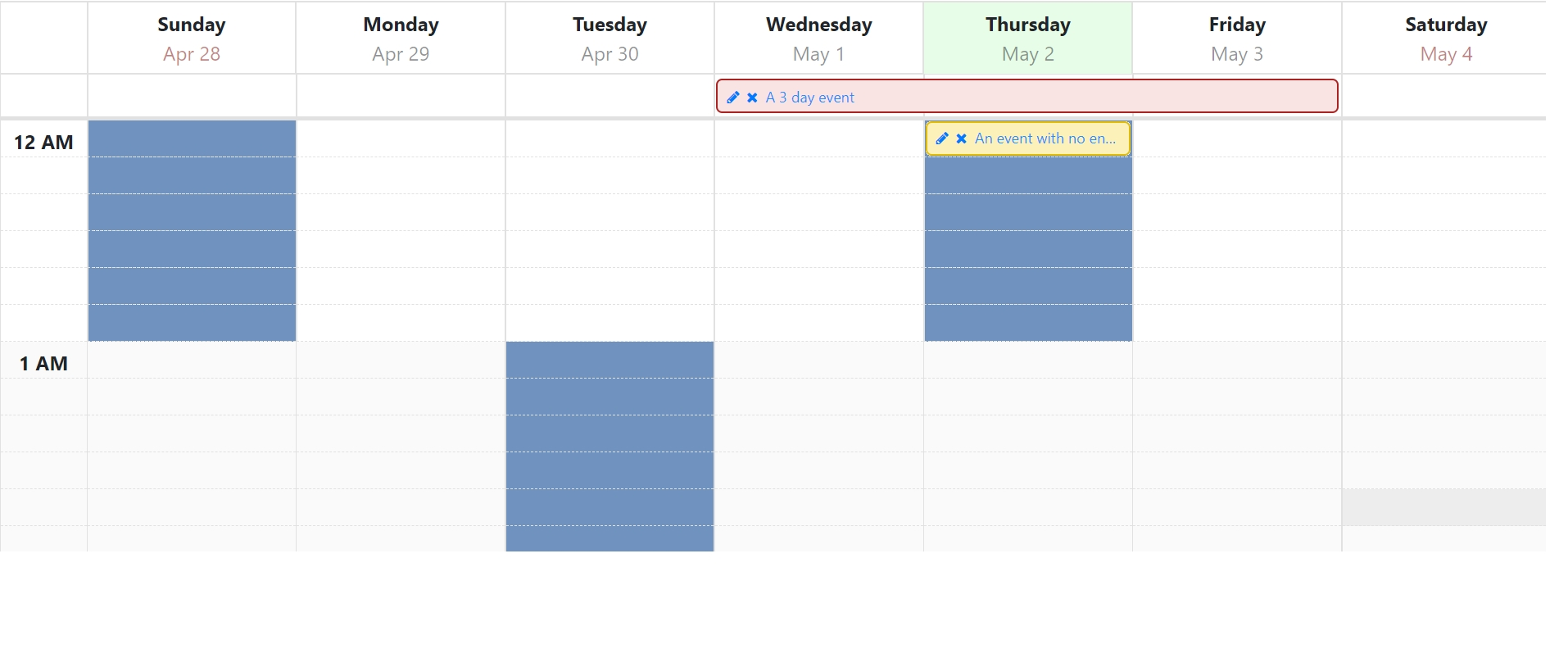 How To Use Ng-Template In Angular Calendar Week View To Show Calendar Template Week View