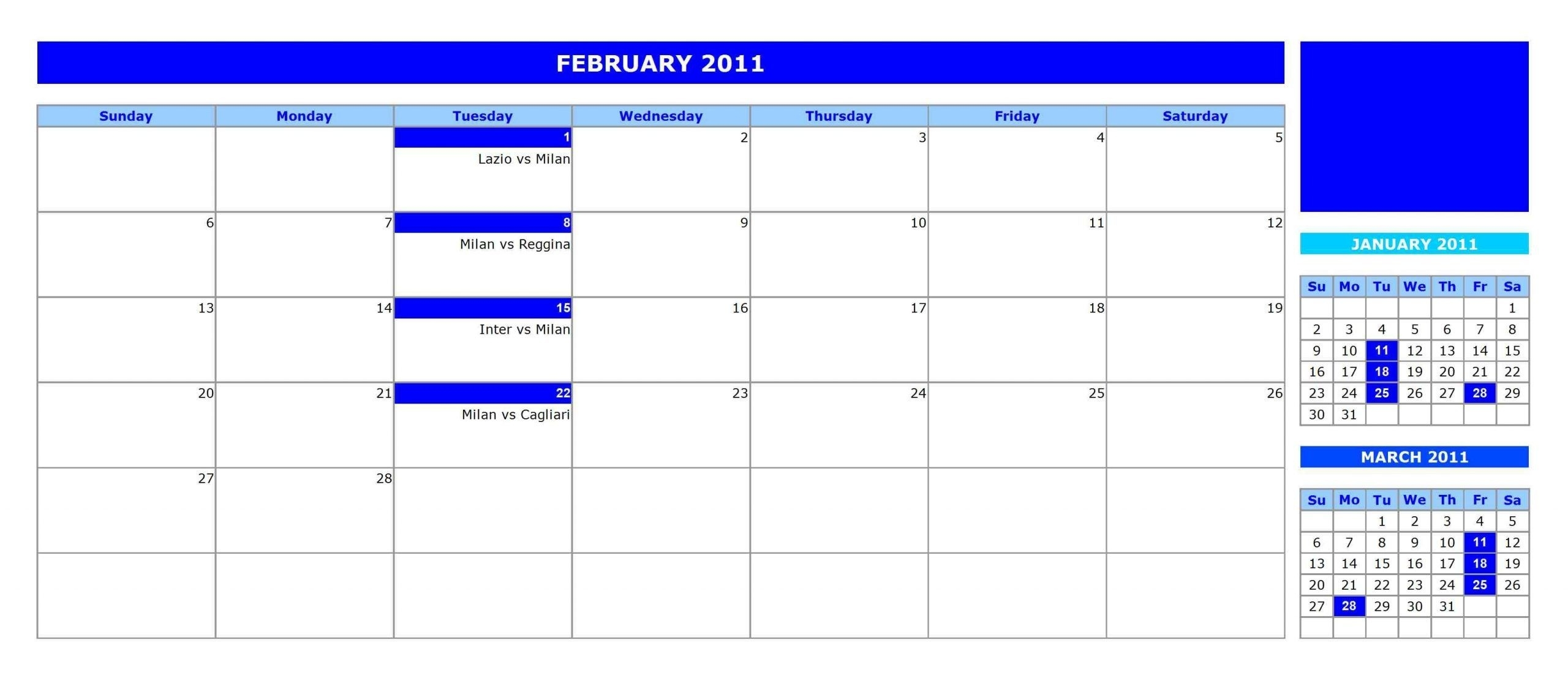 Monthly Schedule Template Open Office Seven Things You Need Calendar Template Open Office