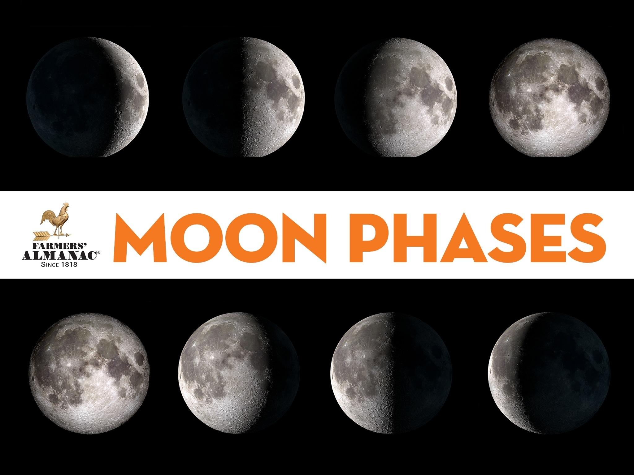 Moon Phases - Farmers' Almanac Zodiac Calendar Farmers Almanac
