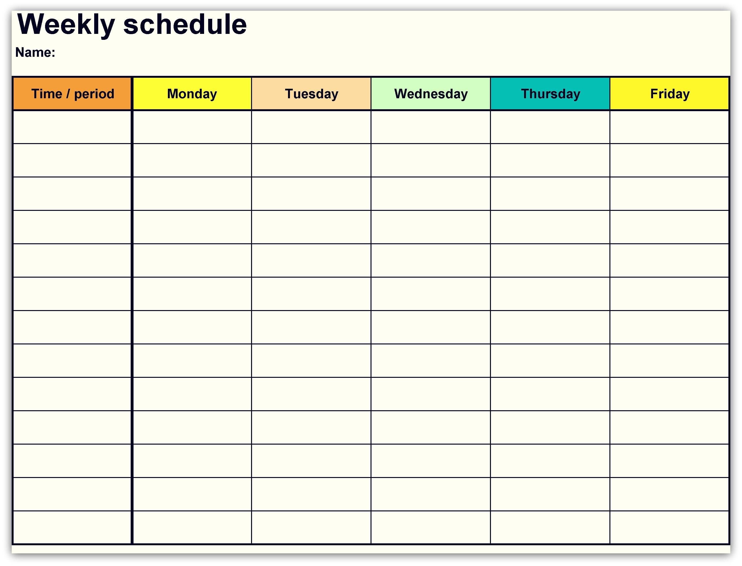 Printable Weekly Calendar Template Unique New Google Docs Calendar Template On Google Sheets