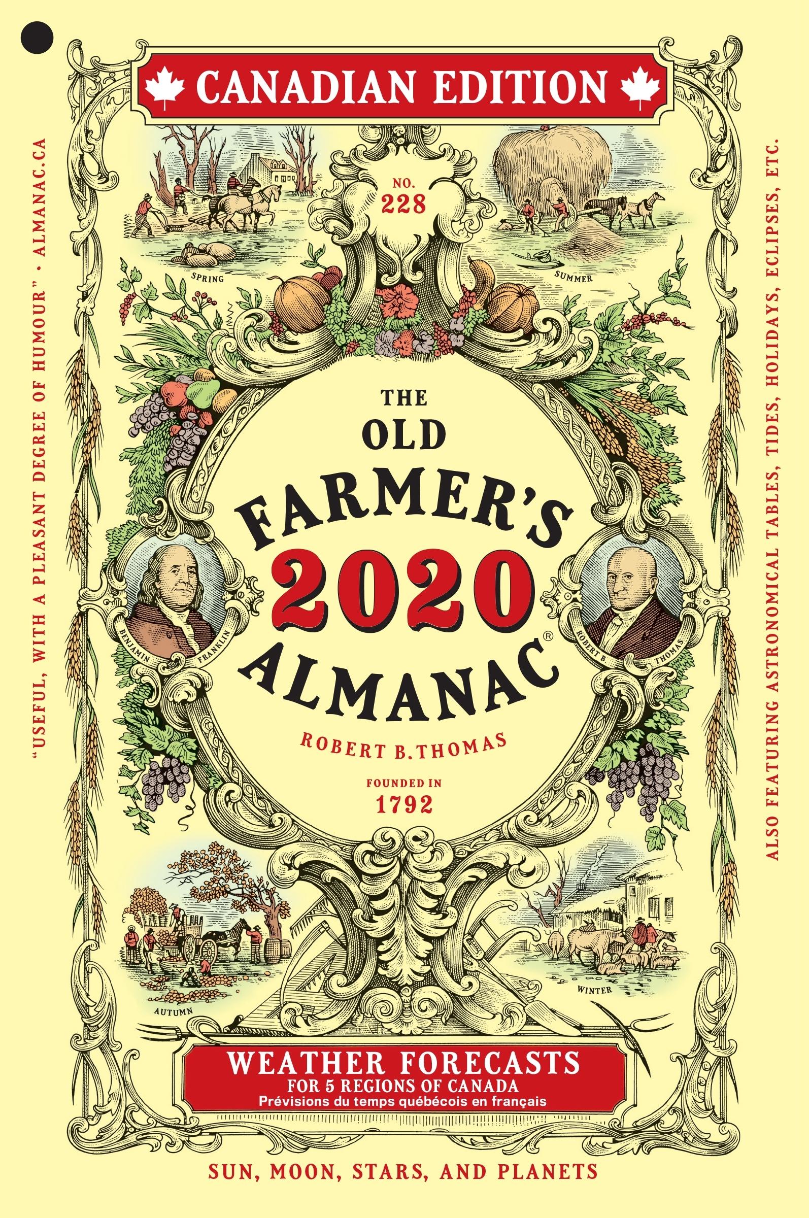 The 2020 Old Farmer'S Almanac | Old Farmer'S Almanac Zodiac Calendar Farmers Almanac